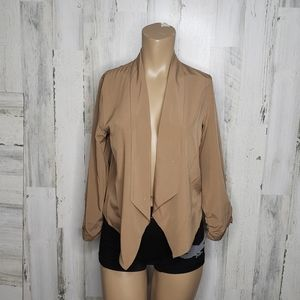 Chocolate  blazer size S
